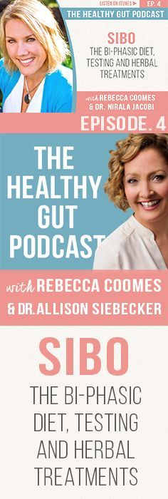 The Healthy Gut Podcast Ep.4 with Dr.Nirala Jacobi. SIBO, the bi-phasic diet, SIBO testing and SIBO herbal treatments