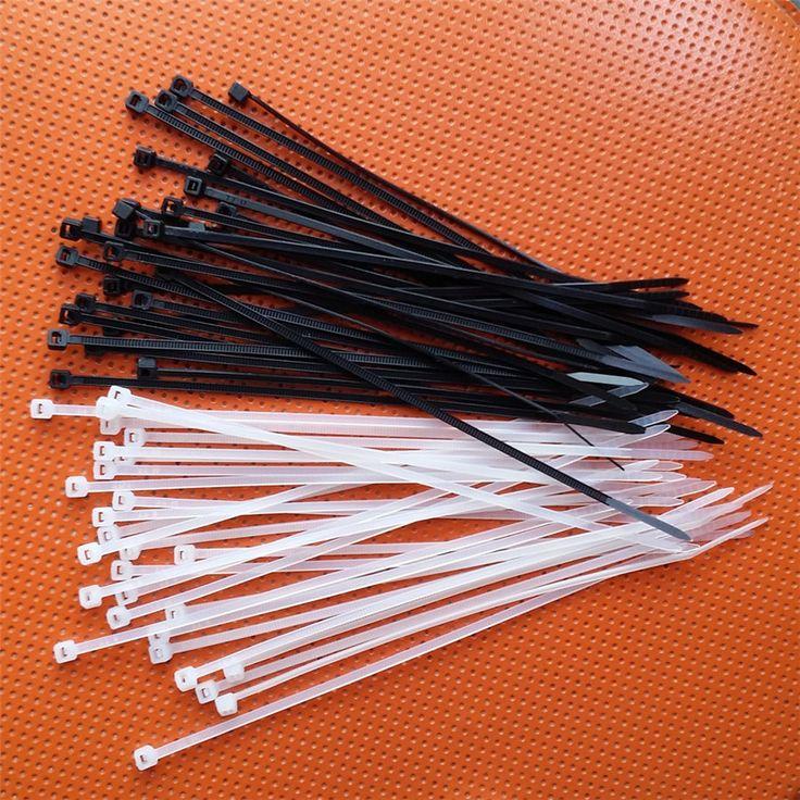 (100 Stuks/partij) 3*150mm Nylon Ties zelfsluitende Fietsen Fiets Rem Riem Cable Zip Tie Bandage Fiets Lint Accessoires