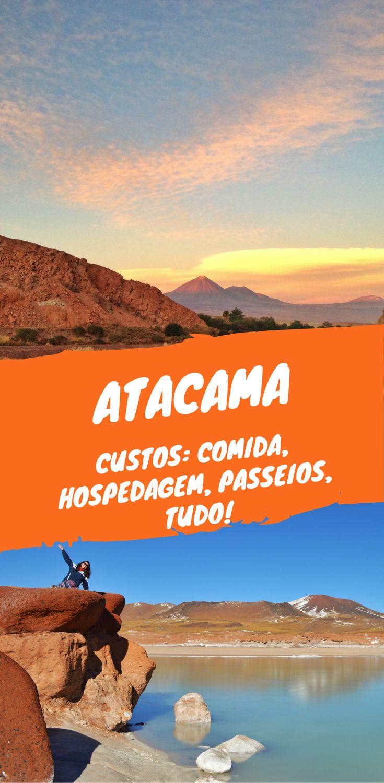 Quanto custa viajar para San Pedro de Atacama? Custos de hospedagem, comida, restaurantes e passeios no Atacama. A viagem pode ser mais barata que você pensa se seguir as dicas de economia para a viagem ao Chile e a San Pedro de Atacama. Na foto, por do sol em San Pedro de Atacama e o passeio a Piedras Rojas.