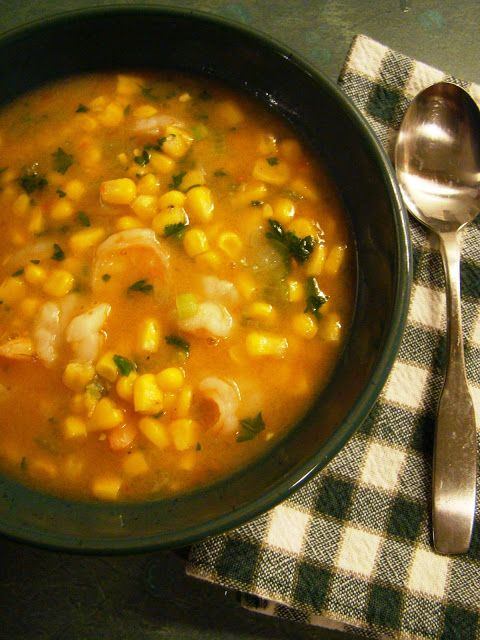 Soup Spice Everything Nice: Shrimp and Corn Soup