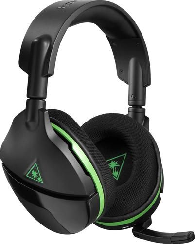 Turtle Beach - Stealth 600 Wireless Surround Sound Gaming Headset for Xbox One and Windows 10 - Black - Angle