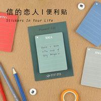 Prácticas de Vida Prevista Post It Bookmark Memo Pad N Veces Pegajosas Notas School Office Supply