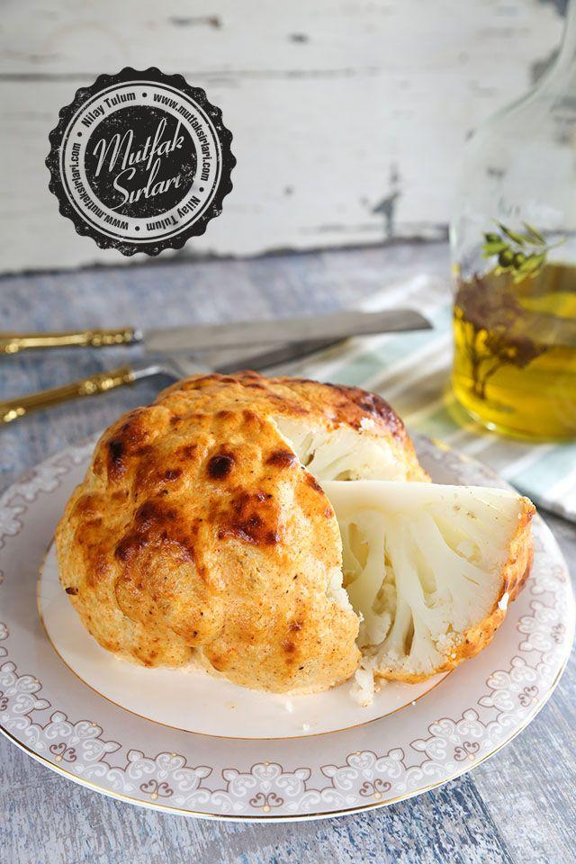 Fırında Bütün Karnabahar – Mutfak Sırları – Pratik Yemek Tarifleri