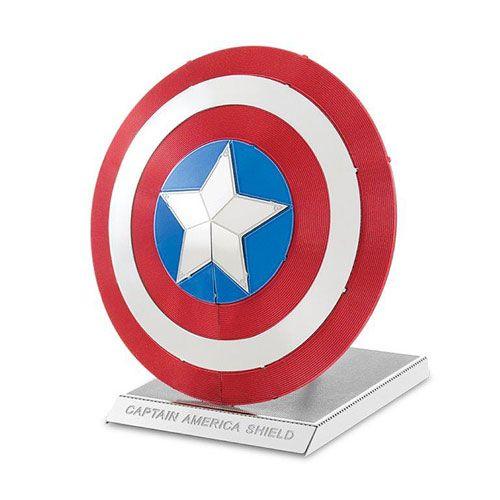 Marvel Captain America Shield Metal Earth Model Kit - Fascinations - Captain America - Model Kits at Entertainment Earth
