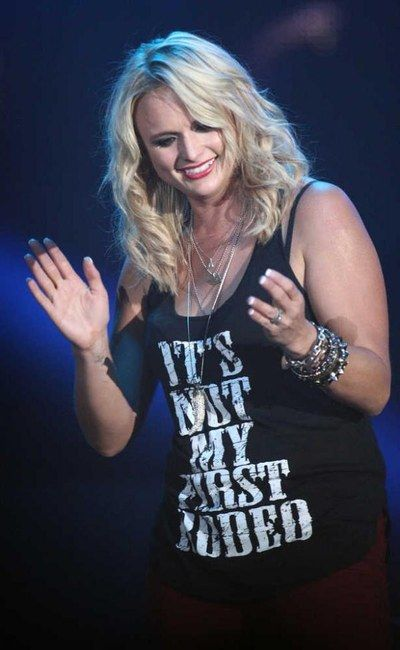 Miranda Lambert ..... Looks like a picture from the Lubbock concert!