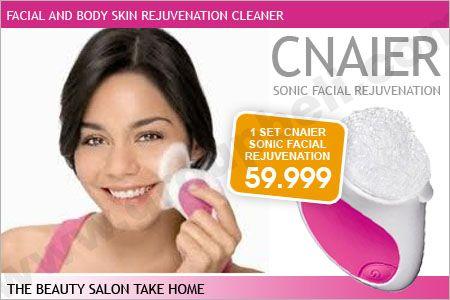 CNAIER Sonic Facial Rejuvenation. Alat Facial Dengan Kekuatan Sonic Vibrate Cleanser. Hanya Rp 59.999 http://www.groupbeli.com/view.php?id=441