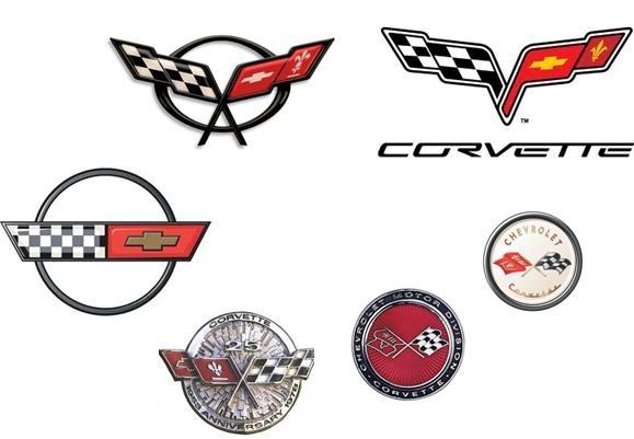 corvette emblem collage c1 through c6 if you don 39 t. Black Bedroom Furniture Sets. Home Design Ideas