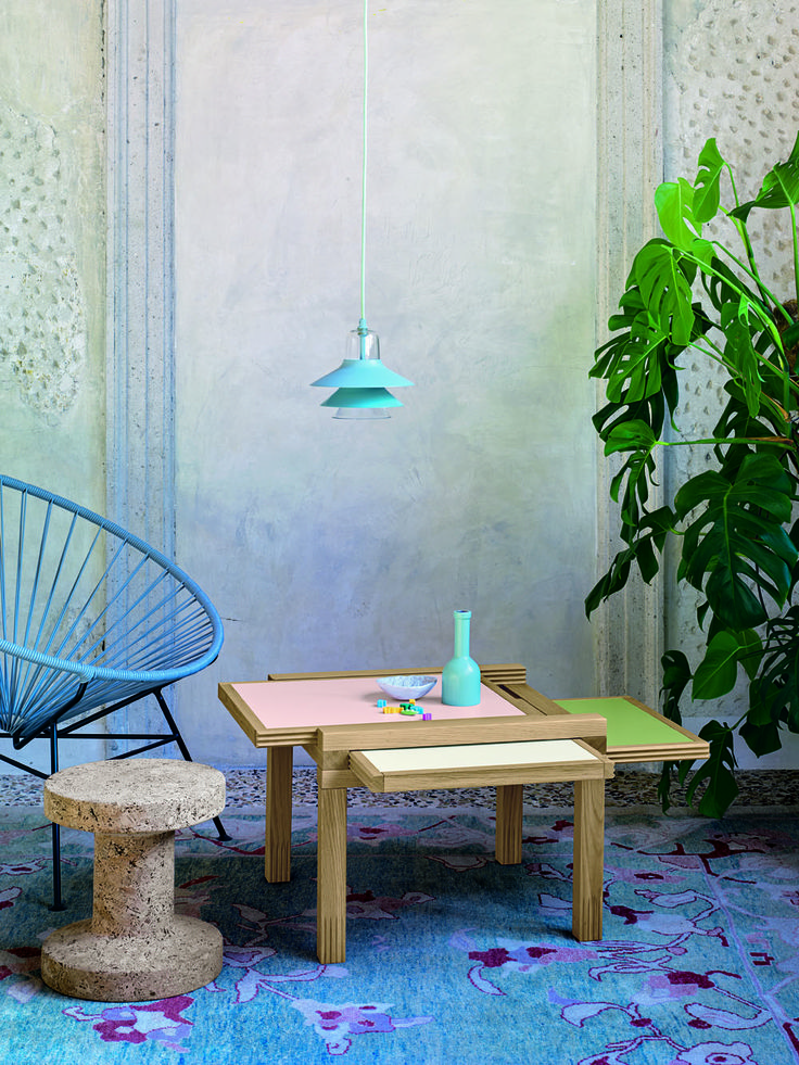 #Par3 and our #Light #Palette. #table #smalltable #pink #green #white #wood #spring #furniture #furnish #style #stylish #garden #design #designlovers