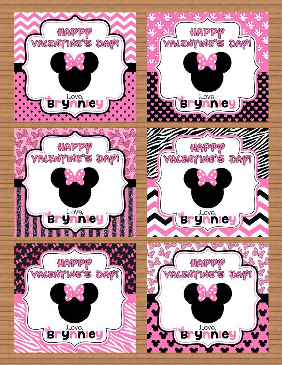 69 best Valentines Day images – Minnie Mouse Valentine Cards
