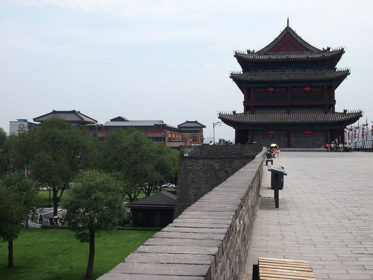 Details and information for biking the Xi'an City Wall in Xi'an, Shaanxi, China