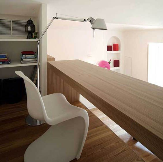 Wonderful *Home Office Spaces*   Apartment In Turin, Italy, By Studioata. Wonderful