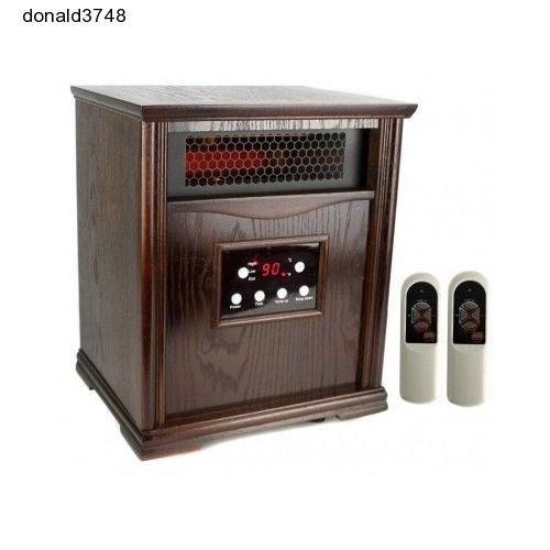NEW! LifeSmart LS-1001HH13 1500 Sq Ft Infrared Quartz Electric Portable Heater #LifeSmart