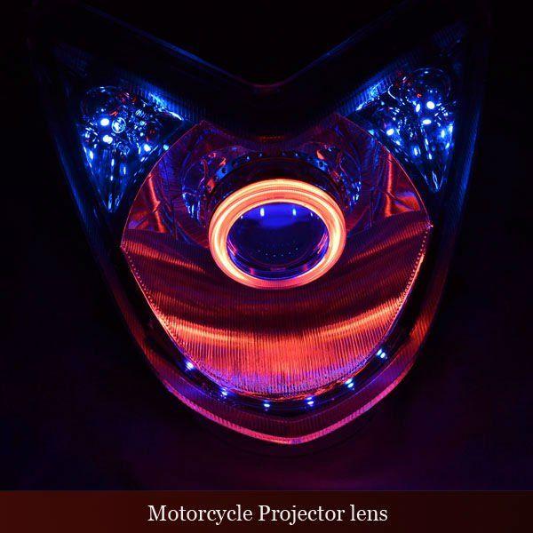2.3inch Motorcycle Devil Eye Projector Headlight - Buy Devil Eye ...