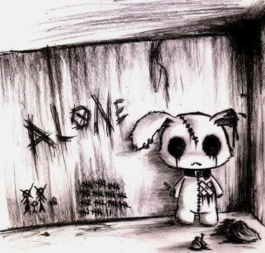 alone... i am alone...