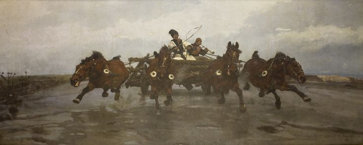 Czwórka - Joseph Chełmoński