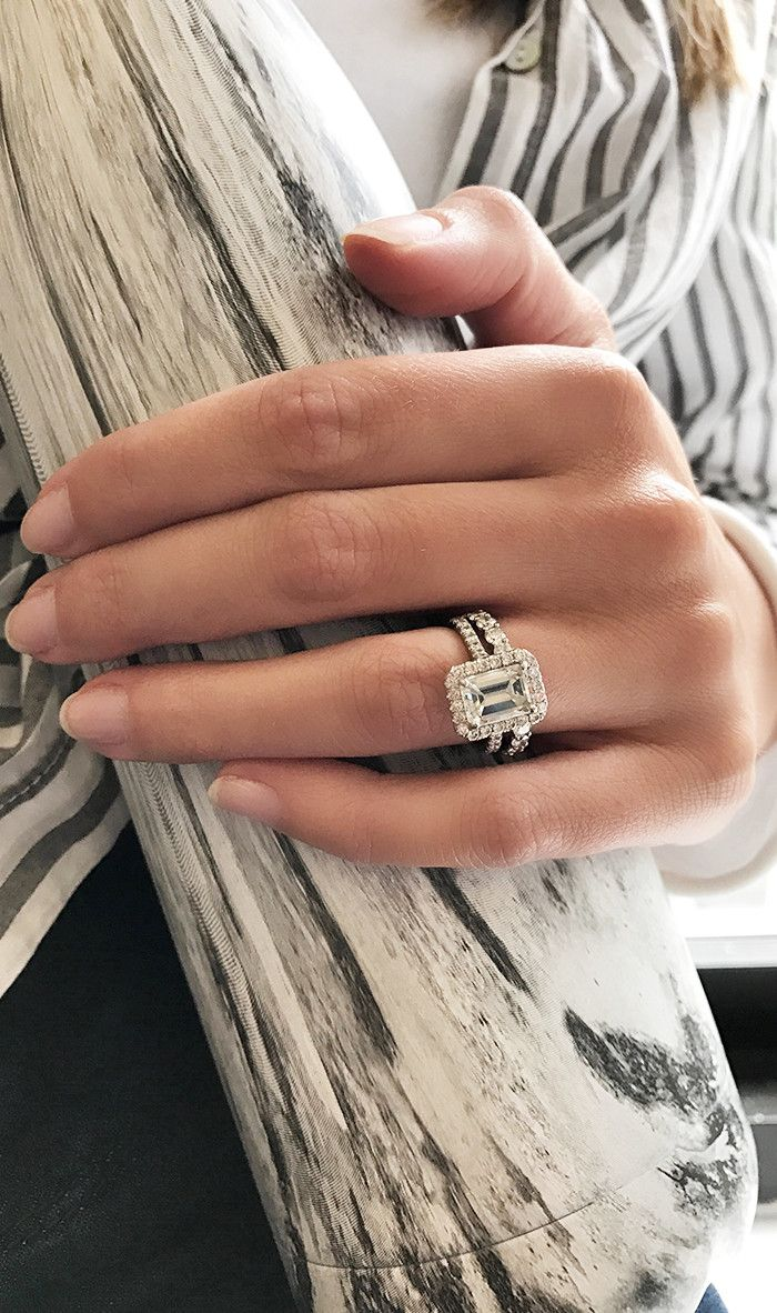 Real-Girl Engagement Rings: Office Edition via @WhoWhatWearUK