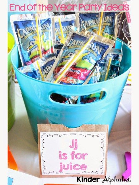 Are you looking for end of the year party ideas? Since I have been creating some alphabet booklets, I decided to go with an alphabet party theme. This is a fun theme for a Preschool or Kindergarten…