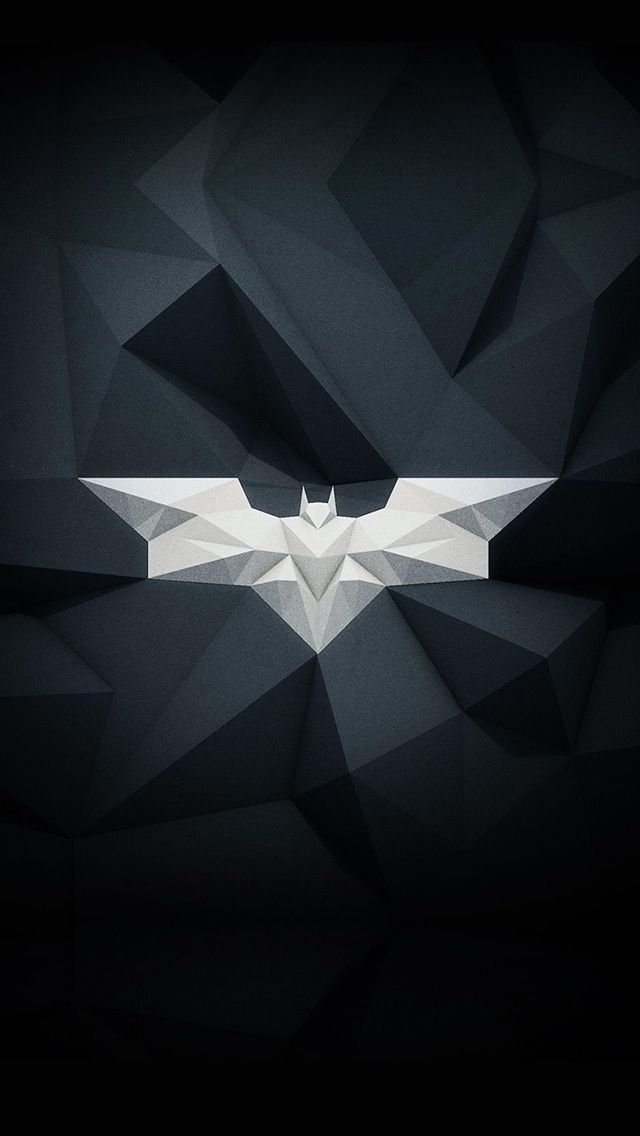 Customize your iPhone5 with this high definition 640x1136 Batman dark wallpaper from HD Phone Wallpapers!