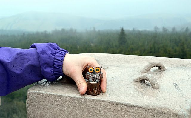 on Big Owl (Owl Mountain, Poland)