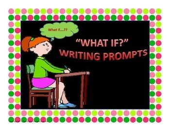 """$3 Grades 2-5  Looking for an effective tool for students to use during writing activities? This package contains 15 writing prompts that start with """"What If"""" and encourages children to think and write creatively. Each page has an area to write a story and to draw a picture to accompany it. Re-pin to remember!"""
