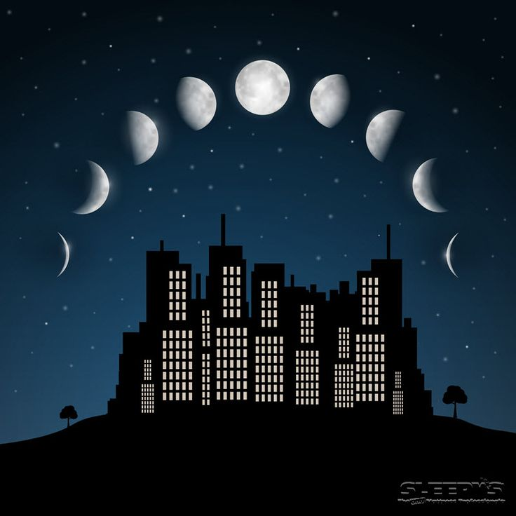Did you know the moon affects your sleep? Research shows you'll sleep better during a new moon and worse during a full moon. #SnoozeClues #sleepys #sleepfacts
