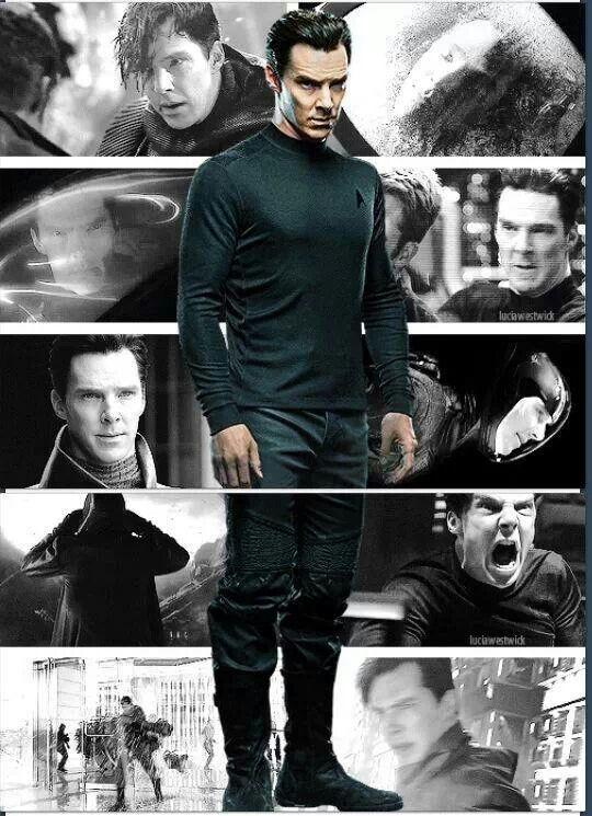 Cumberbatch, Star Trek Into Darkness