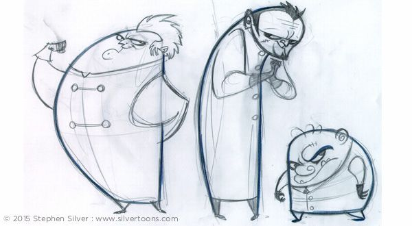 TV Animation - Stephen Silver — Stephen Silver
