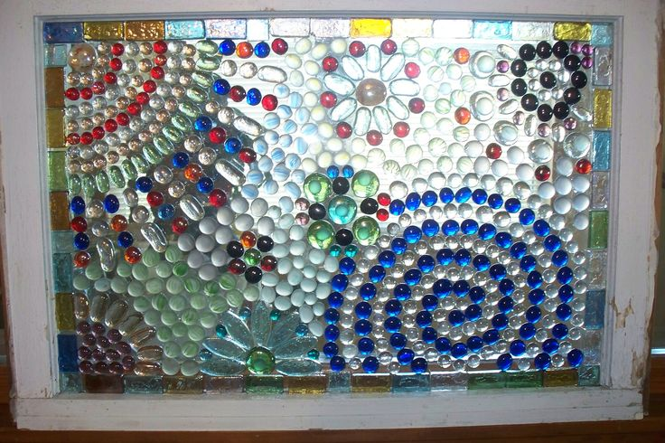 Glass Bead Mosaic Window