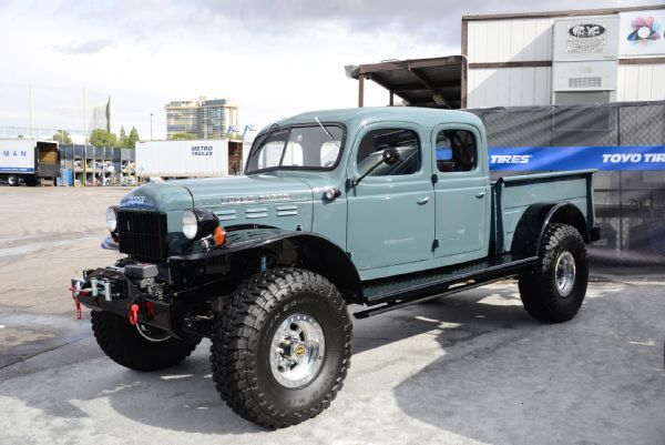 001 Legacy Power Wagon Dodge Vintage Sema 2015 Photo 91811472