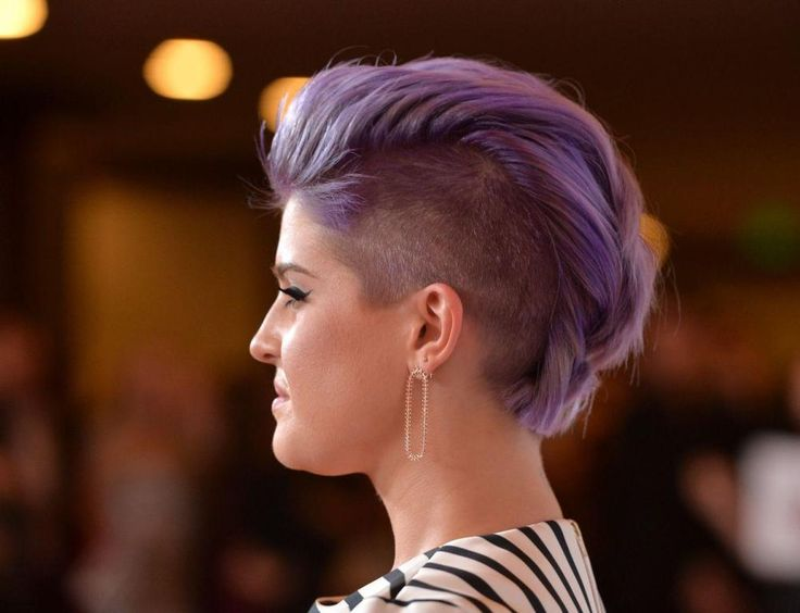 10+ Ideas About Women's Shaved Hairstyles On Pinterest