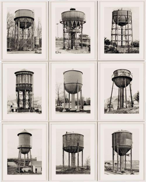 Water Towers ( Wassertürme ) Bernd and Hilla Becher