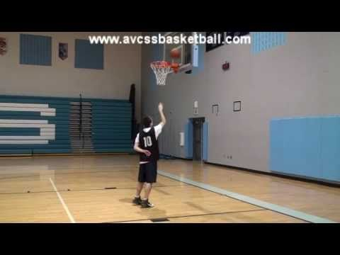 The Basic Steps of the Lay Up (Right Side) for Youth Basketball - YouTube
