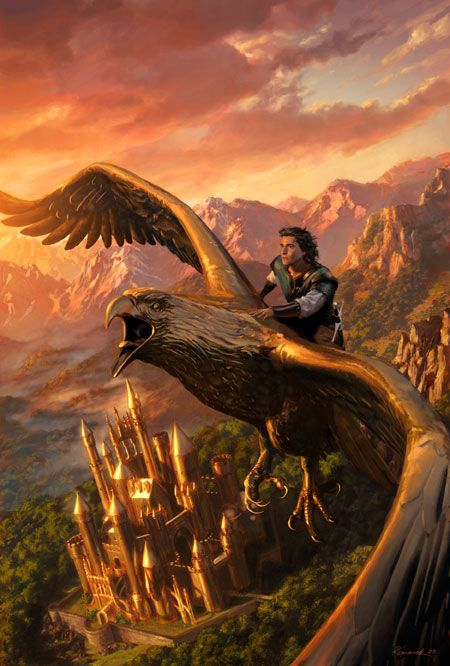 *gasp* is the Hurin on the Golden Eagle escaping Gondolin ...