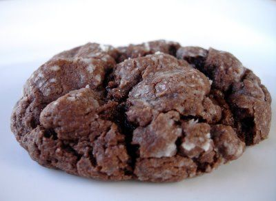 chocolate butter cookies - uses cake mix!