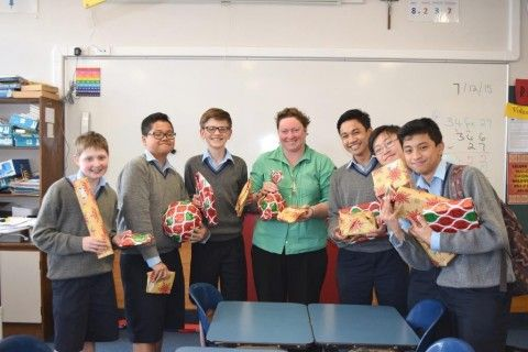 Christmas Gift Donations from St Patricks College