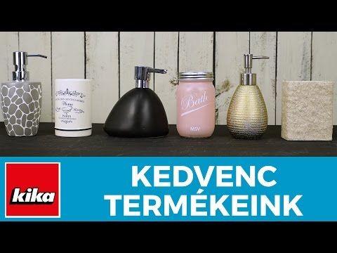 Kedvenc termékeink - Fürdőszobai kiegészítők   Kika Magyarország - YouTube
