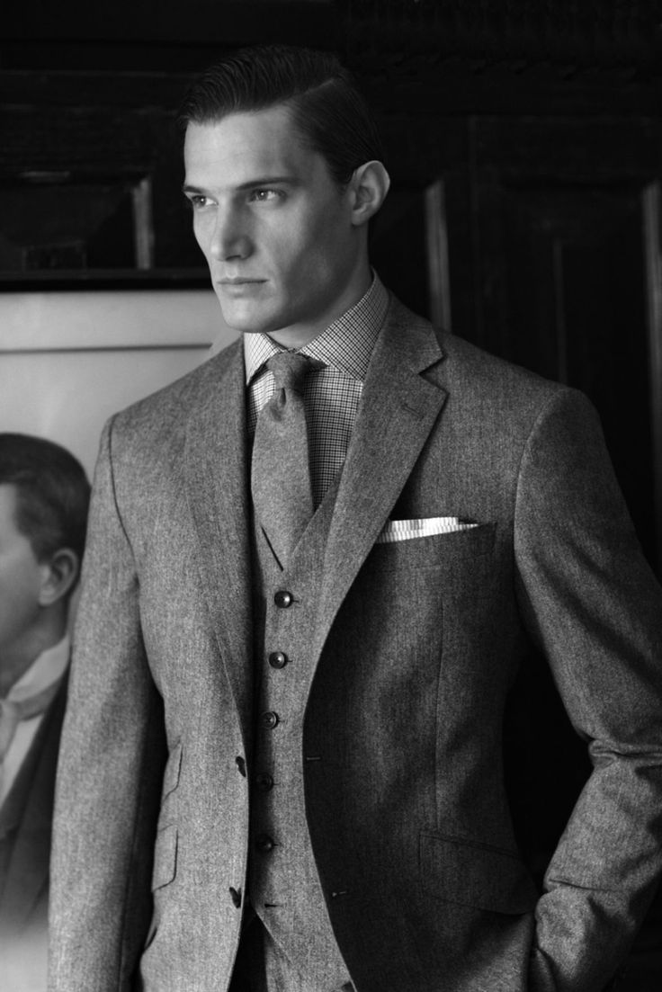 Three piece grey flannel suit | A Life Well Suited ...