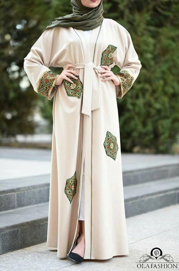 Open Abaya Style Pakistan 2020 Open Abaya Style New Abaya Style Abaya Designs