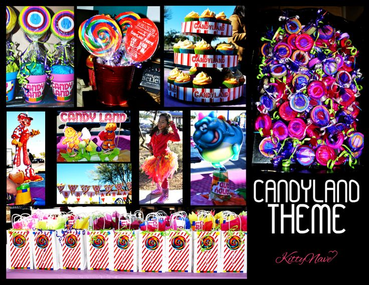 candyland themed sweet 16 | Candyland theme b-day party | My Super Sweet 16