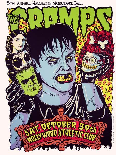 Cramps, The - Dinah Cancer And The Graverobbers - Hellbillys