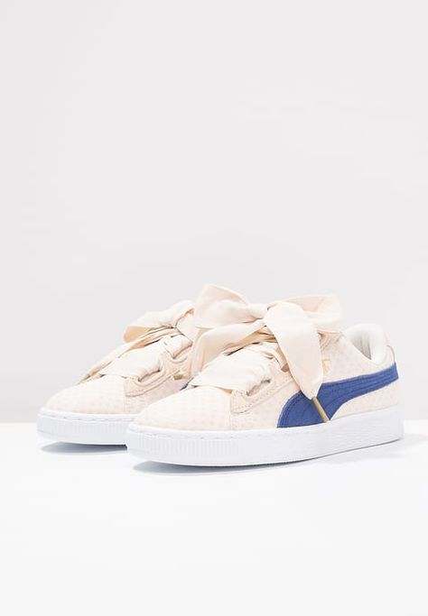 Puma BASKET HEART - Zapatillas - oatmeal twilight blue - Zalando.es 31bec49ab02d