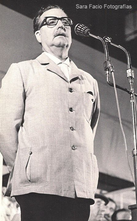 Salvador Allende por Sara Facio