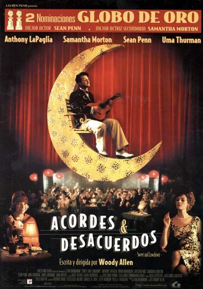 "Acordes & desacuerdos (1999) ""Sweet and Lowdown"" de Woody Allen - tt0158371"