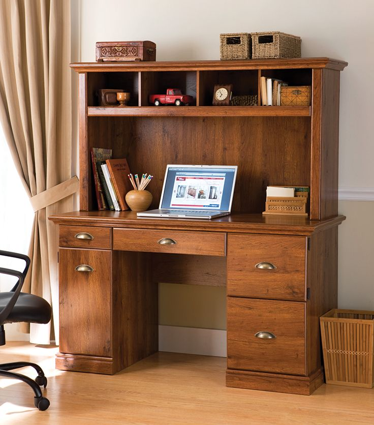 Better Homes and Gardens Computer Workstation Desk and Hutch. Best 25  Computer workstation ideas on Pinterest   Computer