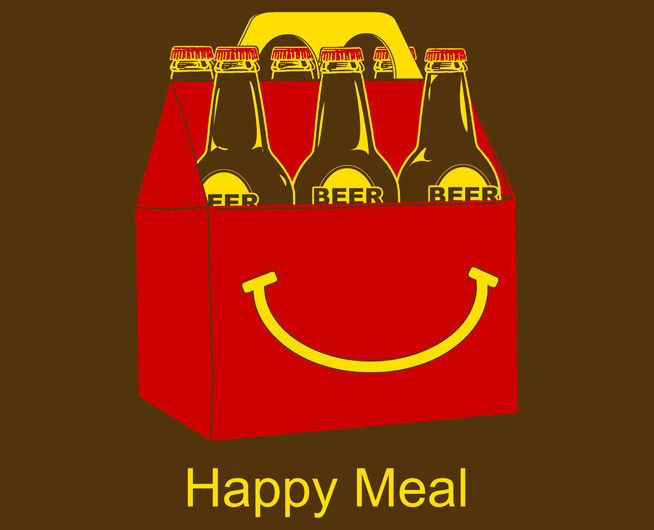 Happy Meal Tee – deezteez.com