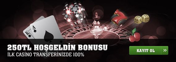 Hepsibahis 250 TL Casino Hoşgeldin Bonusu