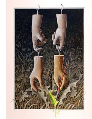 Bjorn Richter, Surrealism, surrealism.co.uk, online gallery, contemporary art,art,painting,surrealism,surreal art,artist,gallery,surreal objects,online gallery,art galleries,alternative art
