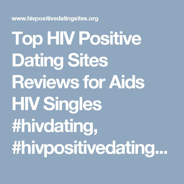 gay dating site for hiv positive