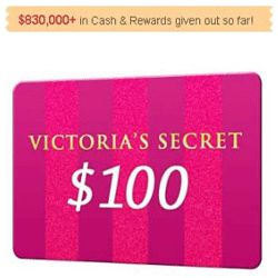 Here's How To Get A $100 Victoria's Secret Gift Card - When we talk about the hottest and sexiest lingerie, bras or sleepwear, Victoria's Secret is the first brand which comes to mind. Here's a chance for the ladies to score a $100 Victoria's Secret gift card. You can enter your email address here for a chance to get the $100 Victoria's Secret shopping card. Take action now while the offer still lasts. Good luck!