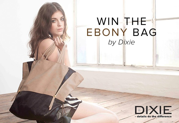 Win the Ebony bag by Dixie! To enter the competition we want to see a photo of your current handbag and we want to know why you need a new one and what you would put in it!. Click on the image to read all about the conditions and simply email a photo of the contents of your bag to: naw@boozt.com! Good luck!